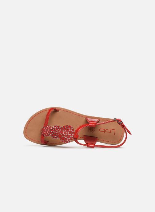 Sandales et nu-pieds Les P'tites Bombes PIPA Rouge vue gauche