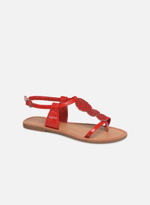 Sandales et nu-pieds Les P'tites Bombes PIPA Rouge vue détail/paire
