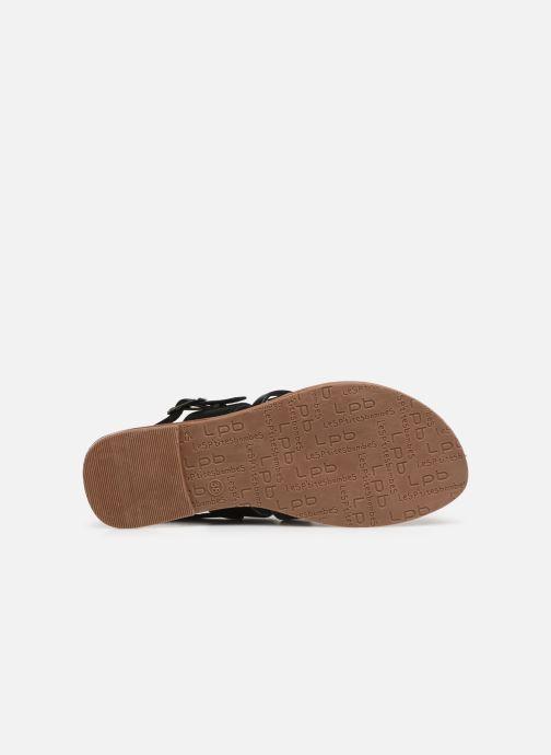 Sandales et nu-pieds Les P'tites Bombes RACHEL Noir vue haut