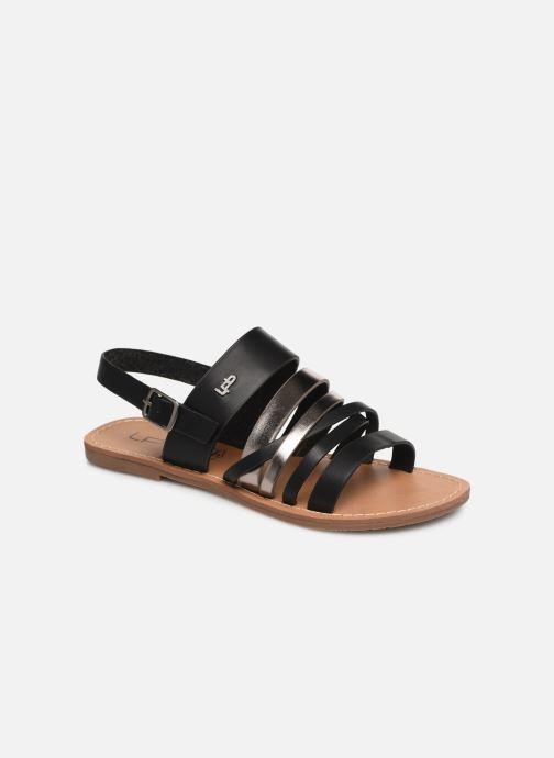 Sandales et nu-pieds Les P'tites Bombes RACHEL Noir vue détail/paire