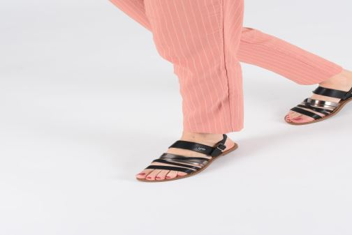 Sandali e scarpe aperte Les P'tites Bombes RACHEL Bianco immagine dal basso