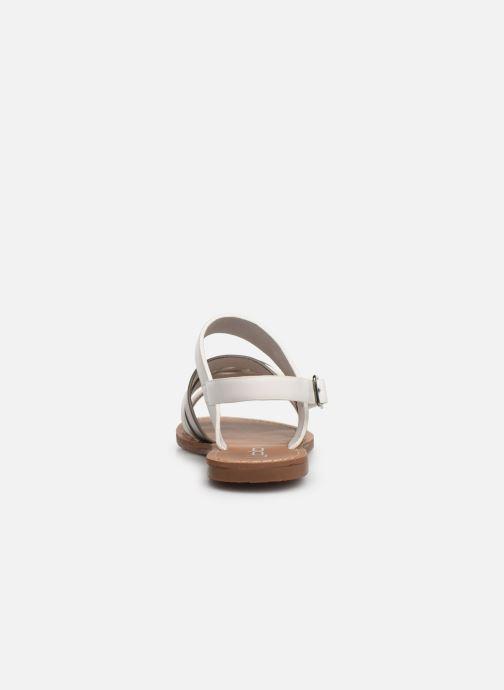 Sandali e scarpe aperte Les P'tites Bombes RACHEL Bianco immagine destra