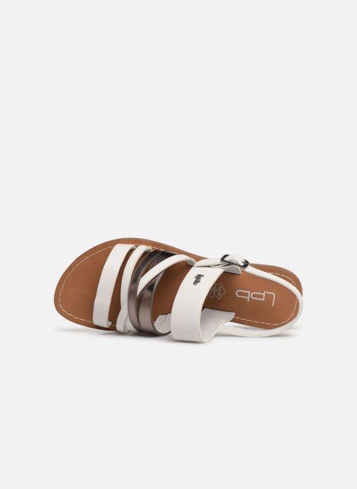 Sandali e scarpe aperte Les P'tites Bombes RACHEL Bianco immagine sinistra