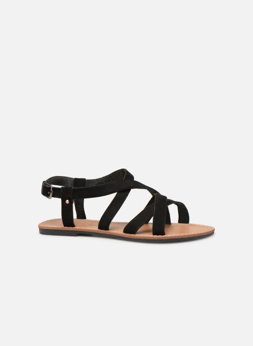 Sandales et nu-pieds Les P'tites Bombes ROMANE Noir vue derrière