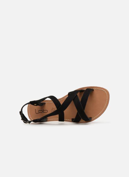 Sandales et nu-pieds Les P'tites Bombes ROMANE Noir vue gauche