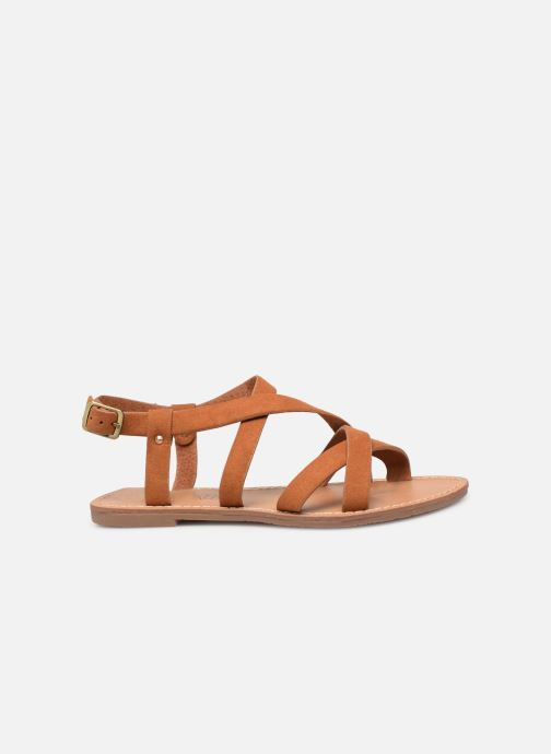 Sandales et nu-pieds Les P'tites Bombes ROMANE Marron vue derrière