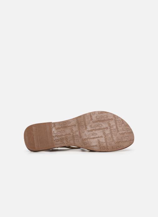 Sandales et nu-pieds Les P'tites Bombes ROMANE Beige vue haut