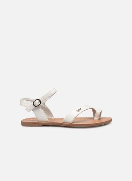 Sandales et nu-pieds Les P'tites Bombes TANIA Blanc vue derrière