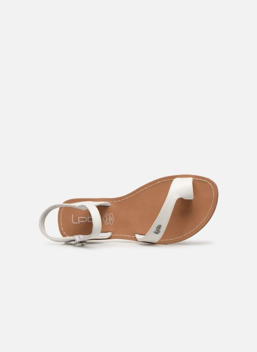 Sandales et nu-pieds Les P'tites Bombes TANIA Blanc vue gauche
