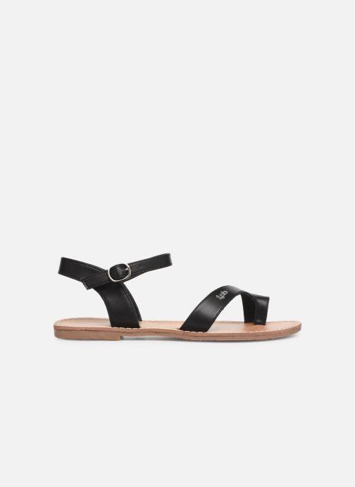 Sandales et nu-pieds Les P'tites Bombes TANIA Noir vue derrière