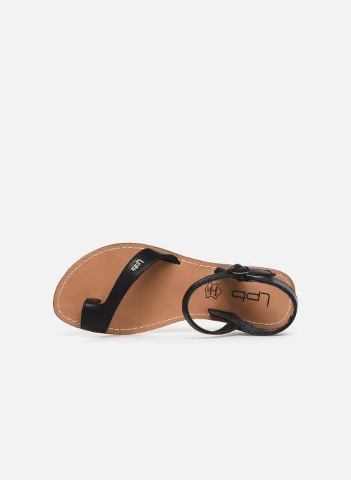 Sandales et nu-pieds Les P'tites Bombes TANIA Noir vue gauche