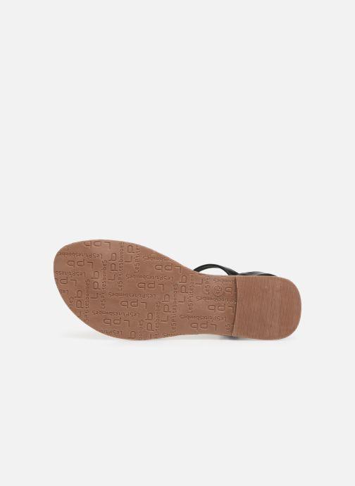 Sandales et nu-pieds Les P'tites Bombes TANIA Noir vue haut