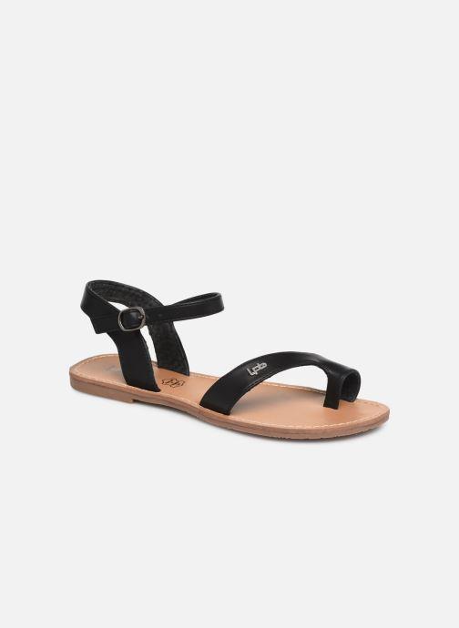 Sandales et nu-pieds Les P'tites Bombes TANIA Noir vue détail/paire