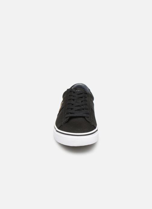 Baskets Polo Ralph Lauren Sayer - Canvas Noir vue portées chaussures