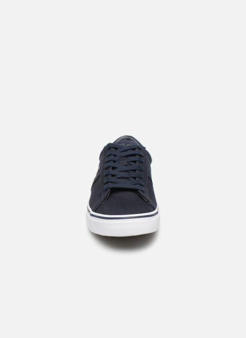 Baskets Polo Ralph Lauren Sayer - Canvas Bleu vue portées chaussures