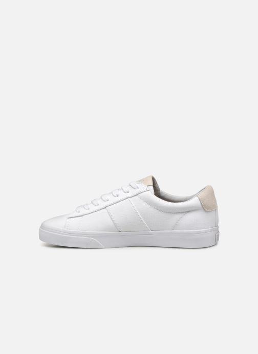 Sneaker Polo Ralph Lauren Sayer - Canvas weiß ansicht von vorne