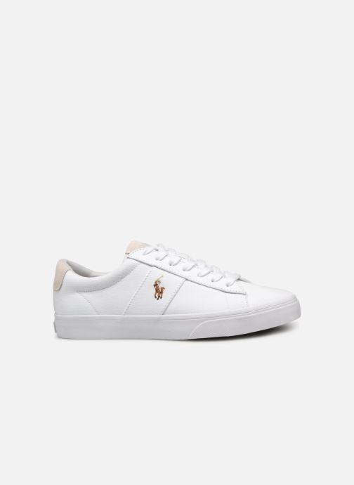 Sneaker Polo Ralph Lauren Sayer - Canvas weiß ansicht von hinten