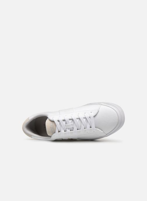 Baskets Polo Ralph Lauren Sayer - Canvas Blanc vue gauche