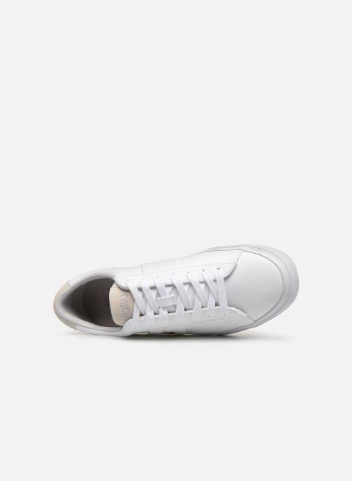 Sneaker Polo Ralph Lauren Sayer - Canvas weiß ansicht von links