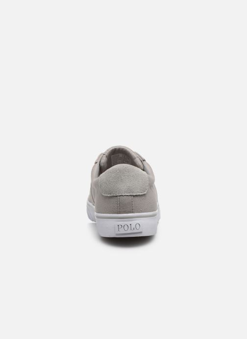 Baskets Polo Ralph Lauren Sayer - Canvas Gris vue droite