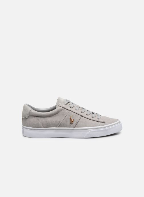 Baskets Polo Ralph Lauren Sayer - Canvas Gris vue derrière