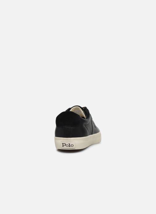 Baskets Polo Ralph Lauren Sayer - Canvas Noir vue droite