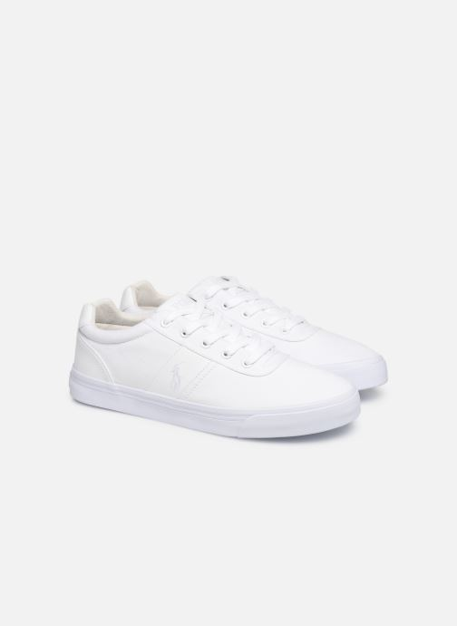 Baskets Polo Ralph Lauren Hanford -Ne Blanc vue 3/4