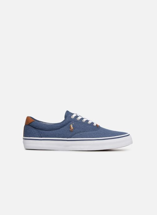 Baskets Polo Ralph Lauren Thorton Sneaker -Vulc - Washed Twill Bleu vue derrière