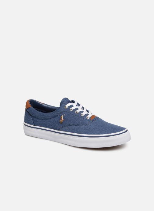 8deb0a6877 Polo Ralph Lauren Thorton Sneaker -Vulc - Washed Twill (Blue ...