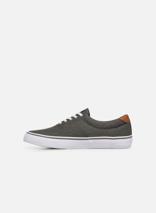 Sneakers Polo Ralph Lauren Thorton Sneaker -Vulc - Washed Twill Zwart voorkant