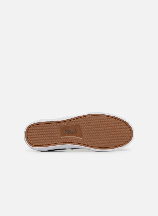 Sneakers Polo Ralph Lauren Thorton Sneaker -Vulc - Washed Twill Nero immagine dall'alto