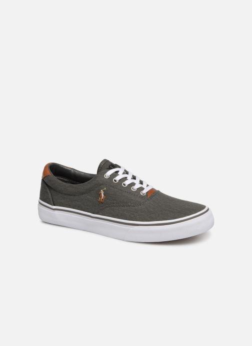 Sneakers Polo Ralph Lauren Thorton Sneaker -Vulc - Washed Twill Nero vedi dettaglio/paio