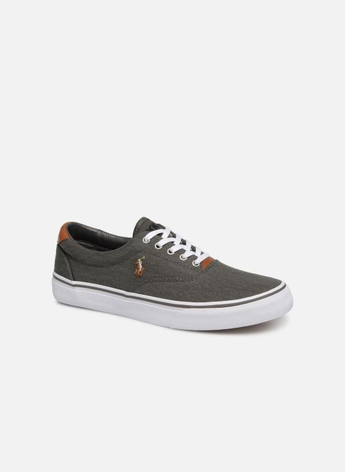 Sneakers Polo Ralph Lauren Thorton Sneaker -Vulc - Washed Twill Zwart detail