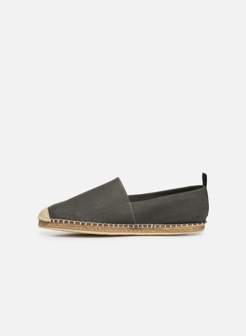 Espadrilles Polo Ralph Lauren Barron-Washed Twill Vert vue face