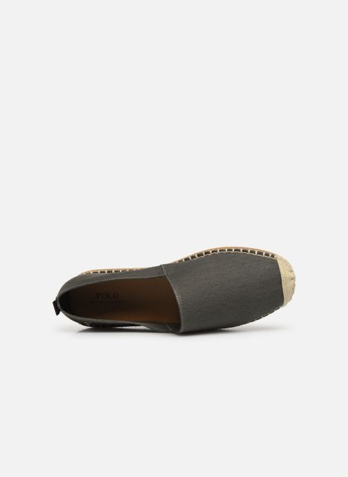 Espadrilles Polo Ralph Lauren Barron-Washed Twill Green view from the left