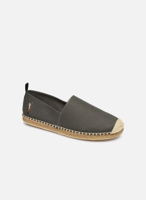 Espadrillos Polo Ralph Lauren Barron-Washed Twill Grøn detaljeret billede af skoene