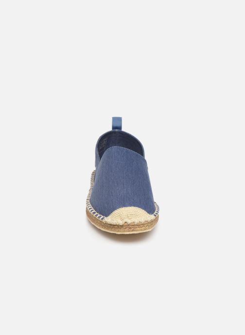 Alpargatas Polo Ralph Lauren Barron-Washed Twill Azul vista del modelo