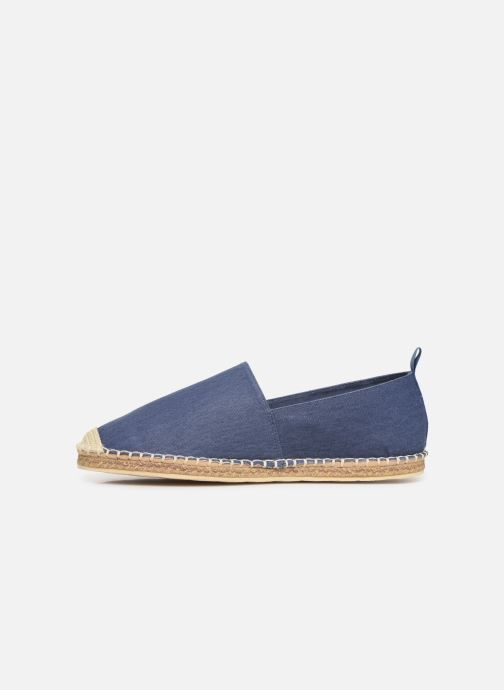 Espadrilles Polo Ralph Lauren Barron-Washed Twill Blue front view