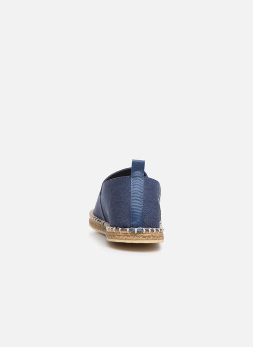 Espadrilles Polo Ralph Lauren Barron-Washed Twill Blue view from the right