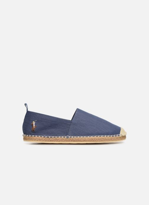 Espadrilles Polo Ralph Lauren Barron-Washed Twill Blue back view