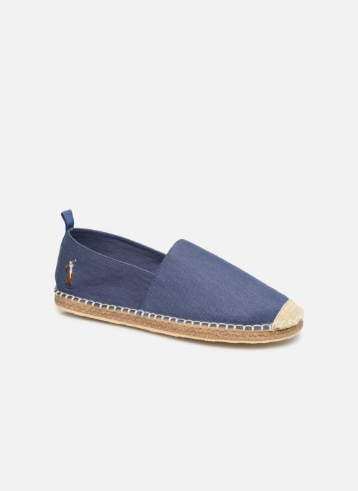 Espadrilles Polo Ralph Lauren Barron-Washed Twill Blue detailed view/ Pair view