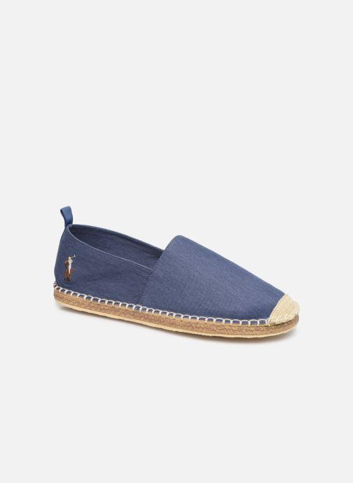 Espadrillos Polo Ralph Lauren Barron-Washed Twill Blå detaljeret billede af skoene