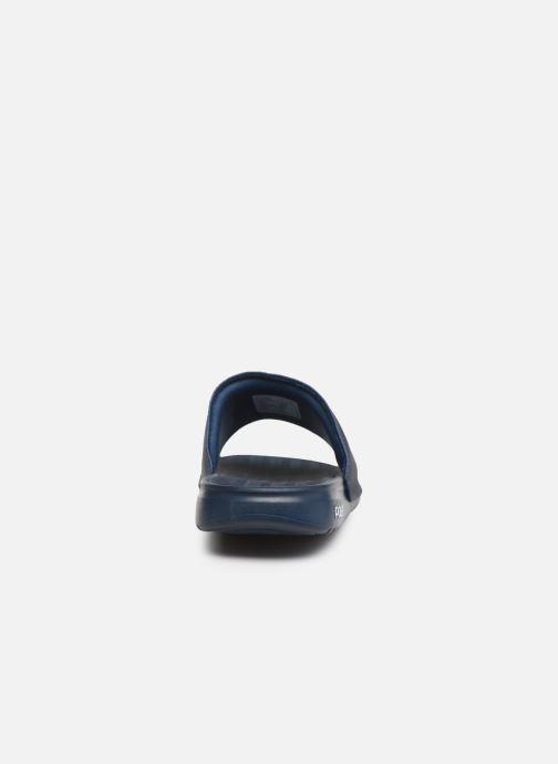 Sandales et nu-pieds Polo Ralph Lauren Rodwell Synthetic Bleu vue droite