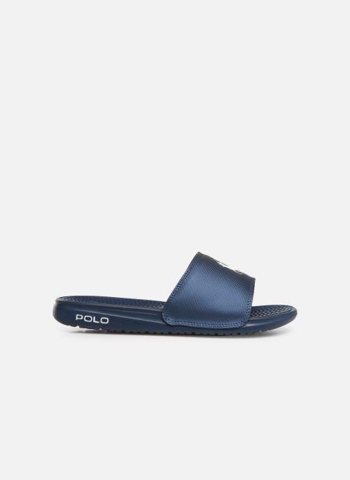 Sandales et nu-pieds Polo Ralph Lauren Rodwell Synthetic Bleu vue derrière