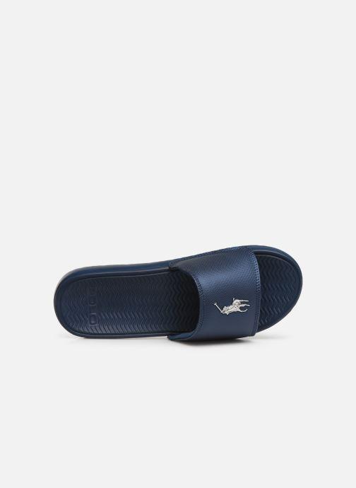Sandales et nu-pieds Polo Ralph Lauren Rodwell Synthetic Bleu vue gauche