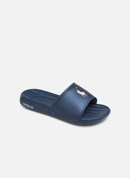 Sandales et nu-pieds Polo Ralph Lauren Rodwell Synthetic Bleu vue détail/paire
