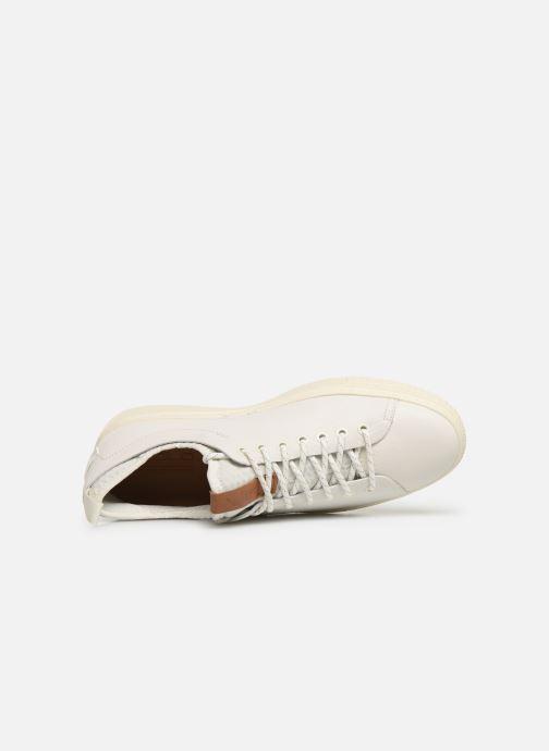 Sneakers Polo Ralph Lauren Dunovin-Small Sport Grain Wit links