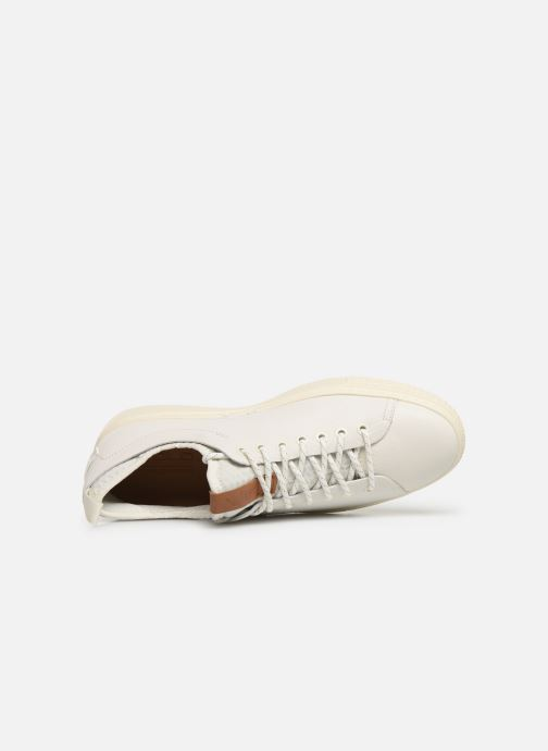 Sneakers Polo Ralph Lauren Dunovin-Small Sport Grain Wit links
