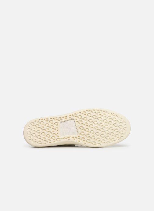 Sneakers Polo Ralph Lauren Dunovin-Small Sport Grain Wit boven
