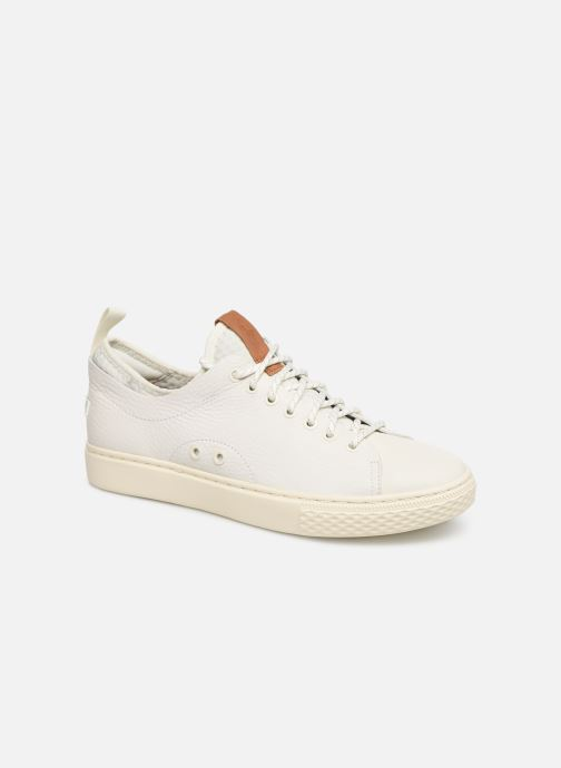 Sneakers Polo Ralph Lauren Dunovin-Small Sport Grain Wit detail